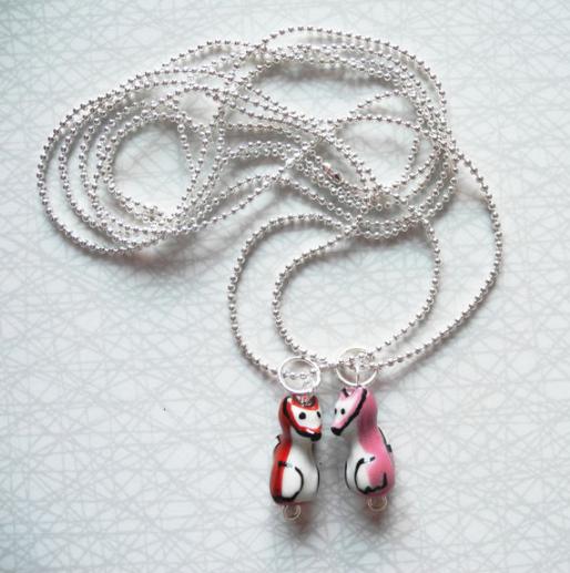 Rävkit - ett armband + ett halsband