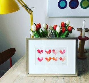 VALENTINES - åtta hjärtan
