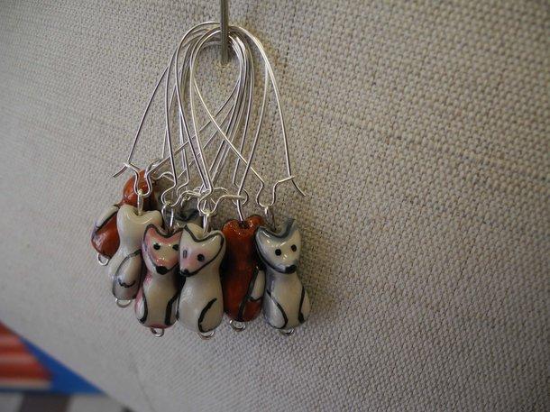 Örhängen - rävar